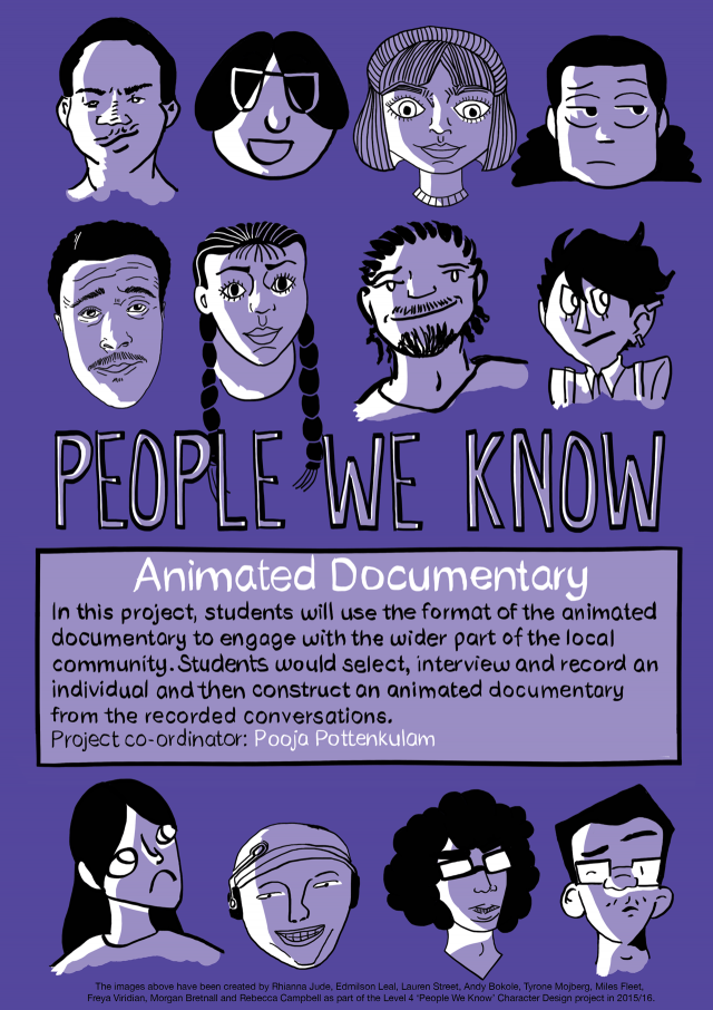 People We Know - Animated documentary