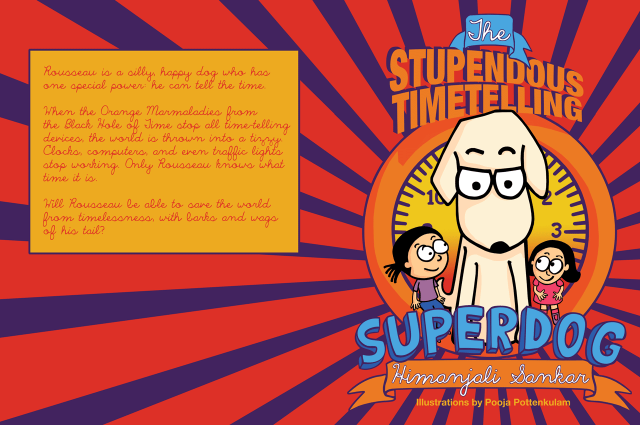 The Stupendous Timetelling Superdog - cover