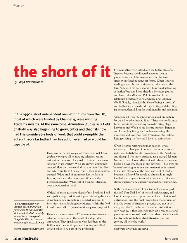 The Short of It - 1
